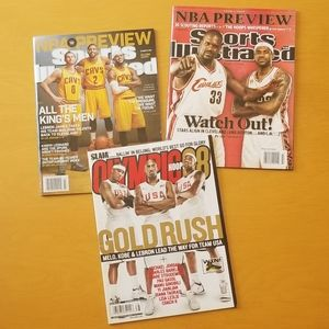 SLAM Olympic Hoops 08 | SI NBA Preview 09 & 14